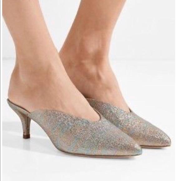 ad8d376b62 Loeffler Randall Shoes | Rainbow Lam Juno Mule | Poshmark